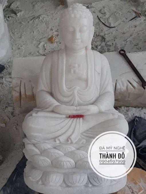 Tượng Phật A Di Đà ngồi 50cm