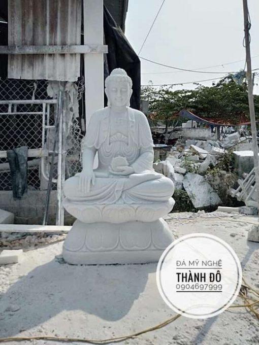 Tượng Phật A Di Đà ngồi