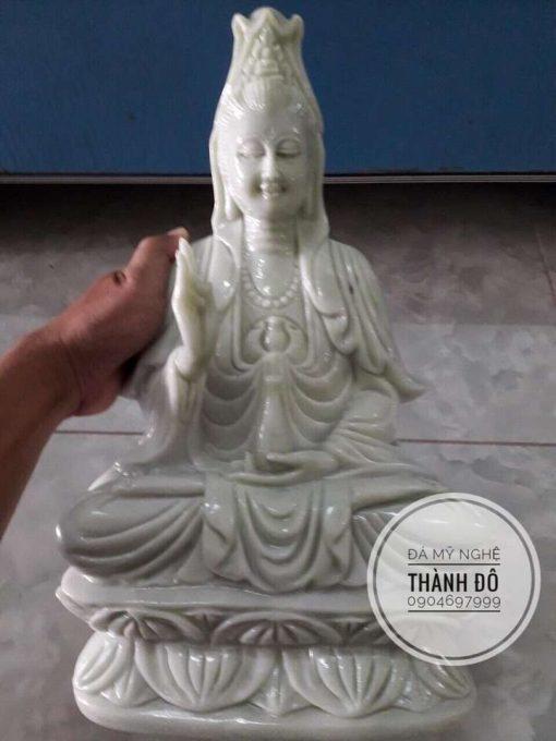 Tượng Phật bà Quan Âm 50cm
