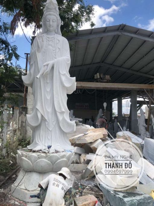 Tượng Phật Bà Quan Thế Âm Bồ Tát 5m
