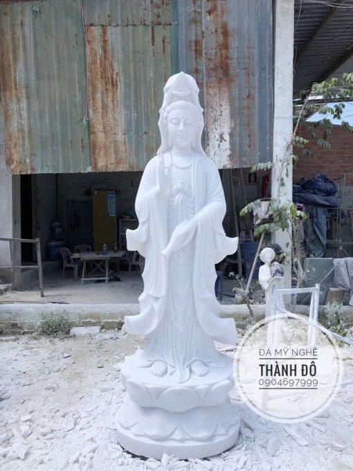 Tượng Phật Quan Âm 1.5m