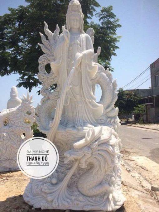 Tượng Phật Quan Âm rồng