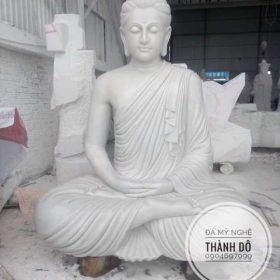 Tượng Phật Thích Ca bằng đá tự nhiên nguyên khối