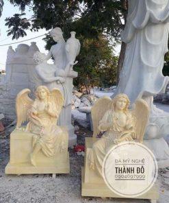 Tượng thiên thần bằng đá tự nhiên