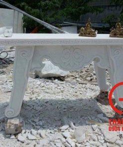 Bàn thờ bằng đá cẩm thạch trắng