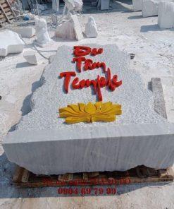 Bảng hiệu chùa Đạo Tâm