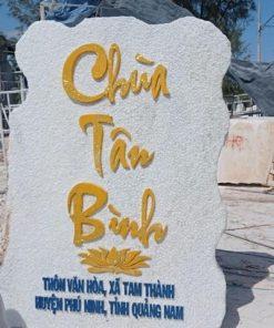 Bảng hiệu chùa Tân Bình