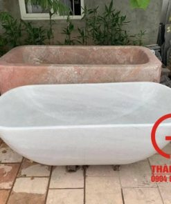 Bồn tắm bằng đá cẩm thạch nguyên khối