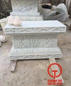 Đế để tượng Phật hình chữ nhật