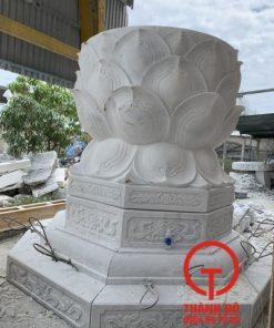 Đế tượng Phật bằng đá