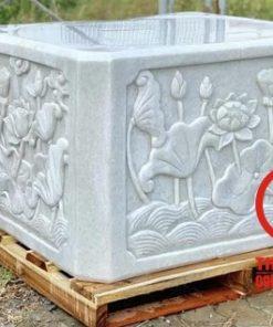 Đế tượng Phật đá tự nhiên nguyên khối