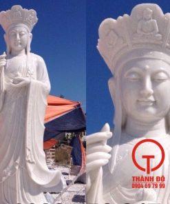 Tượng Địa Tạng bằng đá đẹp
