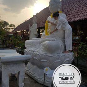 Lắp đặt, an vị tượng tại chùa