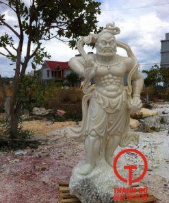 Tượng Kim Cang đá cẩm thạch