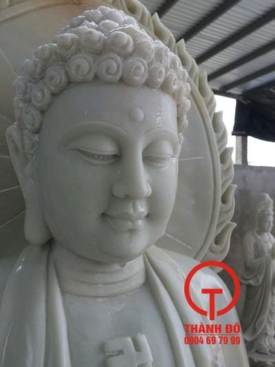 Tượng Phật A Di Đà bằng đá đẹp