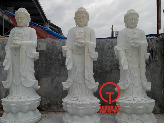 Tượng Phật A Di Đà đứng