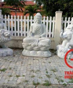 Bộ Tượng Phật thờ chánh điện