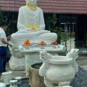 Tượng Phật Thích Ca 3.2m được an vị tại chùa