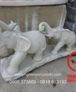 Tượng voi bằng đá tự nhiên