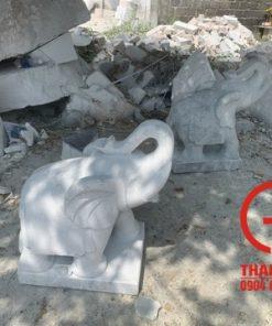Tượng voi đá 40cm