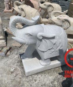 Tượng voi đá 60cm