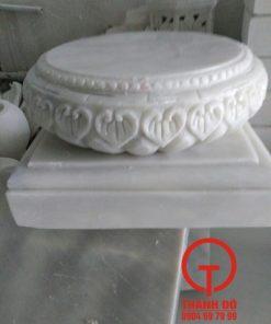 Chân tảng kê cột nhà gỗ đá cẩm thạch