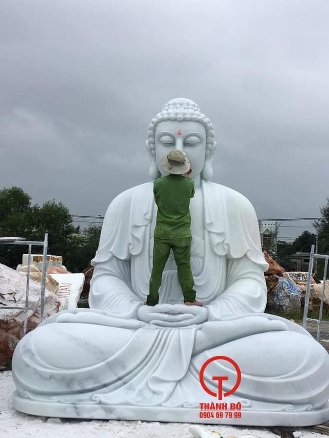 Kích thước tượng Phật Thích Ca bằng đá từ nhỏ đến rất lớn